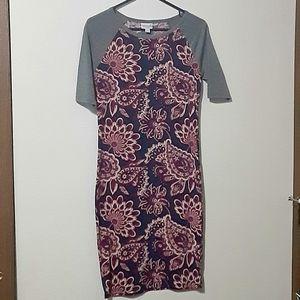 Lularoe dress Paisley print Size XS